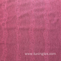 Polyester Knitted Crinkle Fabric With Hollow