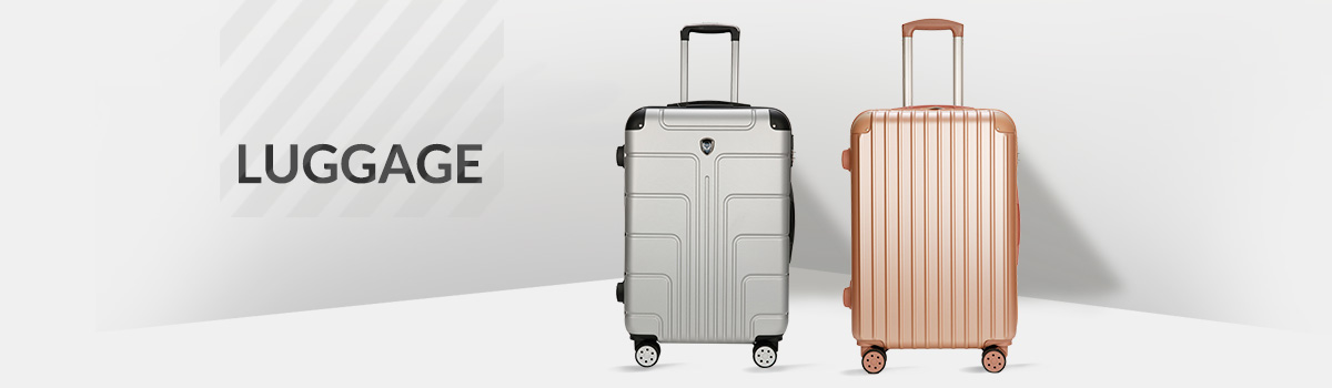 The Set of Classic Metal Triforce Oxford Collection Hardside 3-piece Spinner Luggage Set