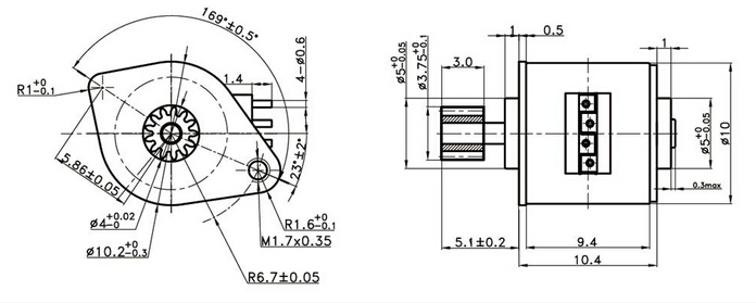 DC 5V Motor | Stepper Motor Gear Reduction Box