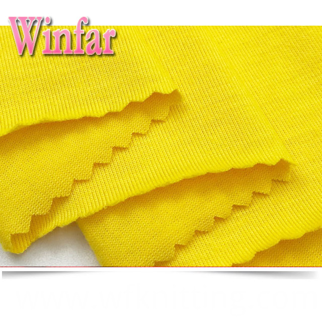 100% Spun Polyester Knitted Fabric