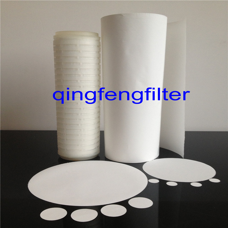 0.22um 0.45 Micron Oleophobic and Hydrophobic PTFE Membrane for Air Filtration