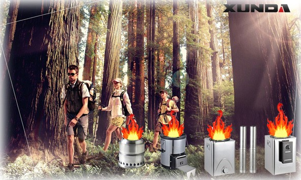 Dragon Series Outdoor Camping Stove with Chimney