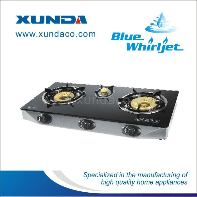 Safety Glass Gas Burner