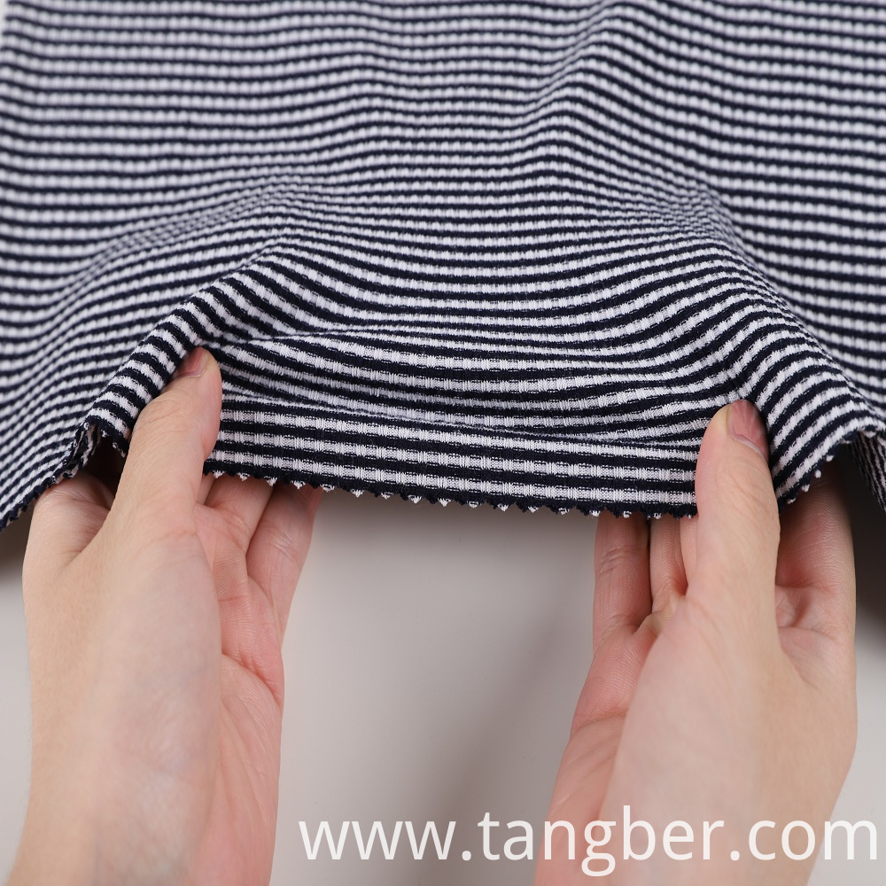 ribbed stretch fabric