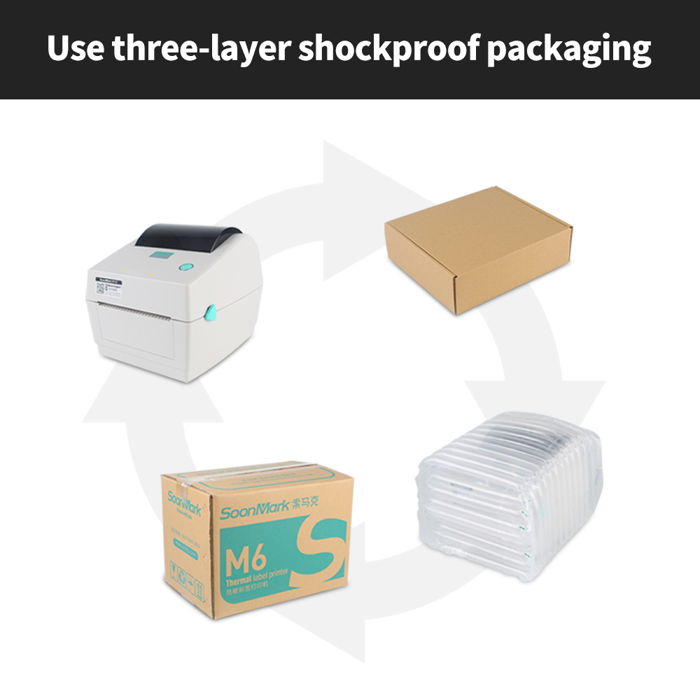 4x6 203Dpi shipping label printer