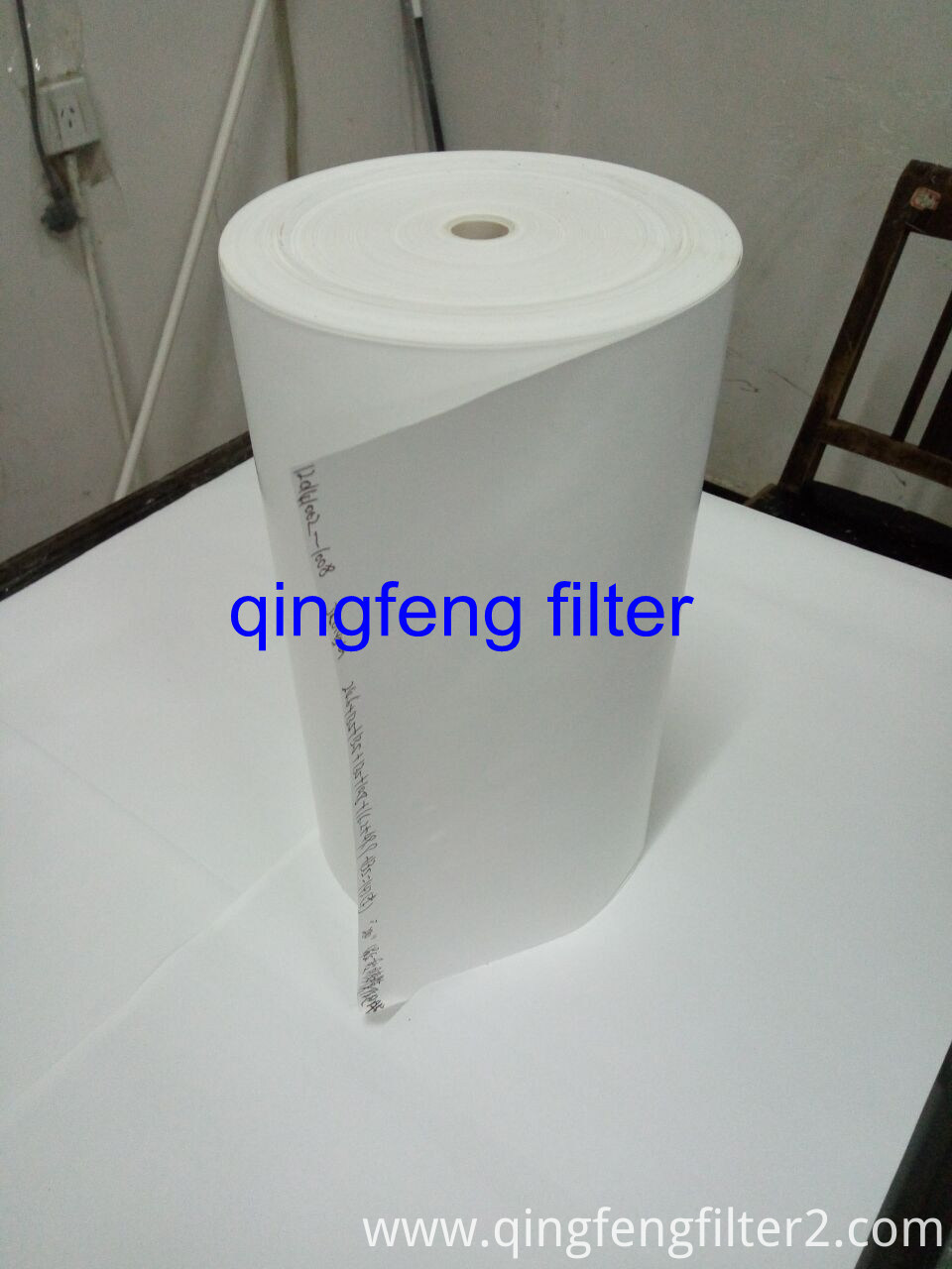 High Flow Flux Pleated Glass Fiber Membrane Filter Paper for Oil and Gas Separation
