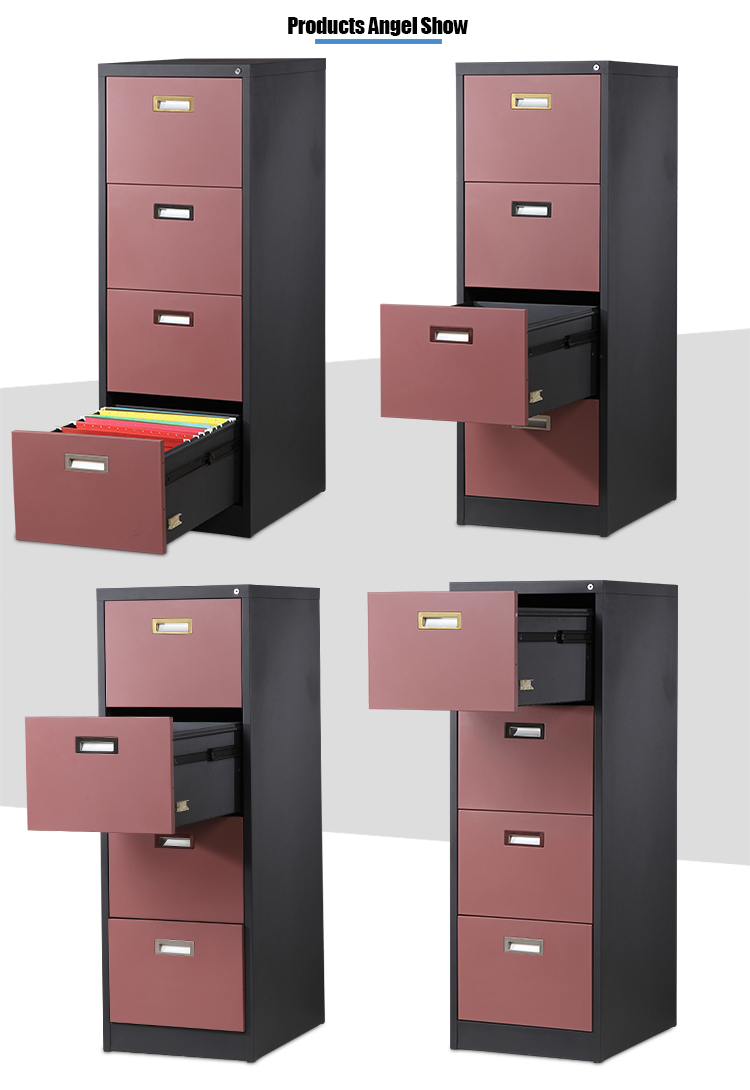 steel four drawers cabinet