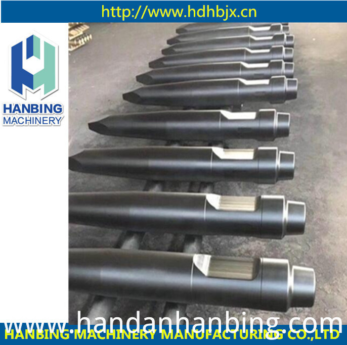 Hydraulic Rock Breaker Hammer Chisel/Conical/Pyramid/Blunt Tools