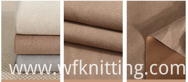 Suede Cloth Fabric For Jacket