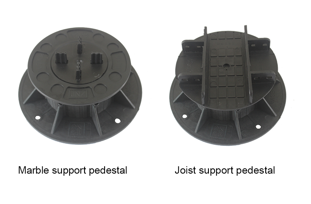 adjustable joist supports pedestal