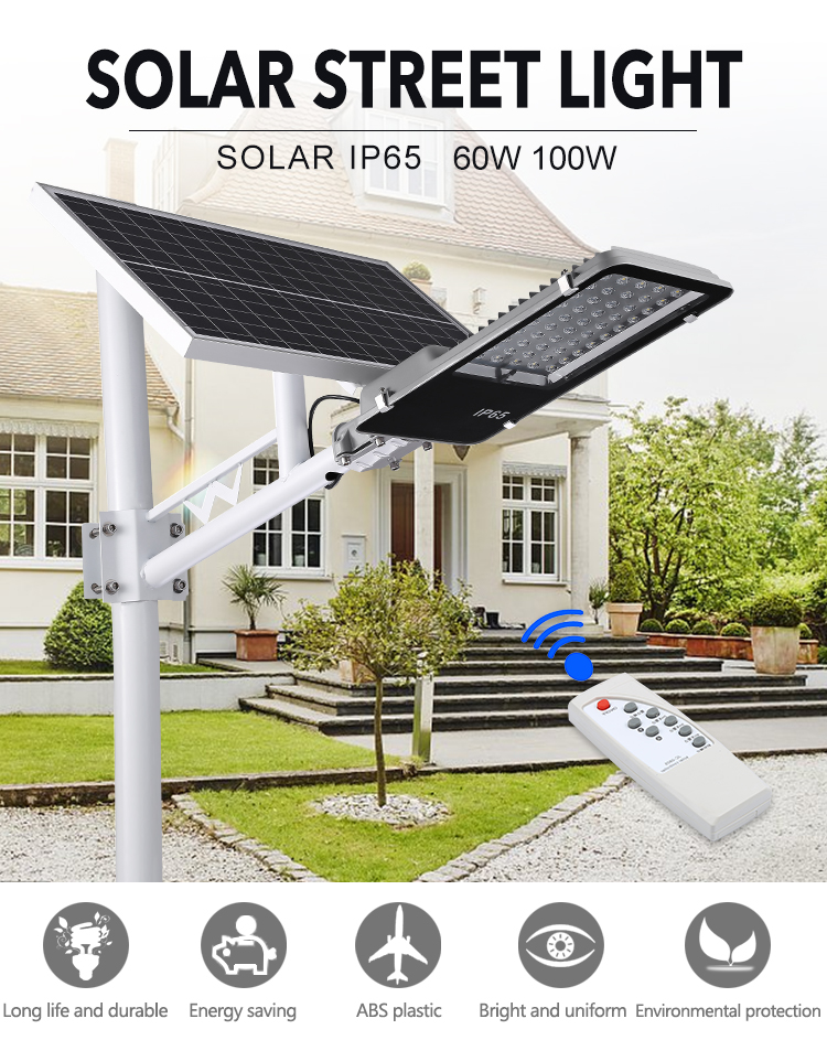 Outdoor Solar Street Light