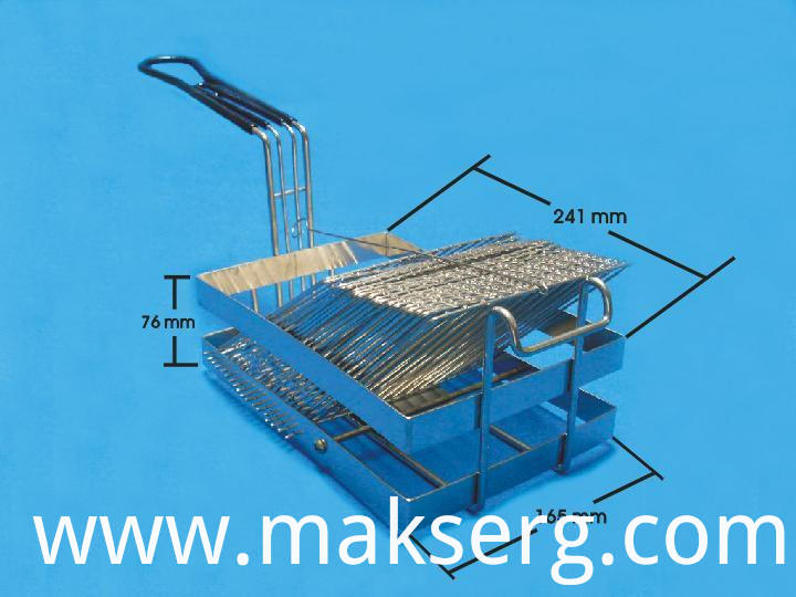 Turkey Style Metal Wire Fryer Basket