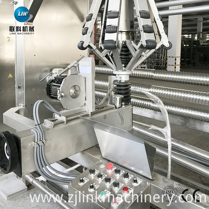 Textile Dyeing Process Fabric Rope Open Squeezing Slitting Machine