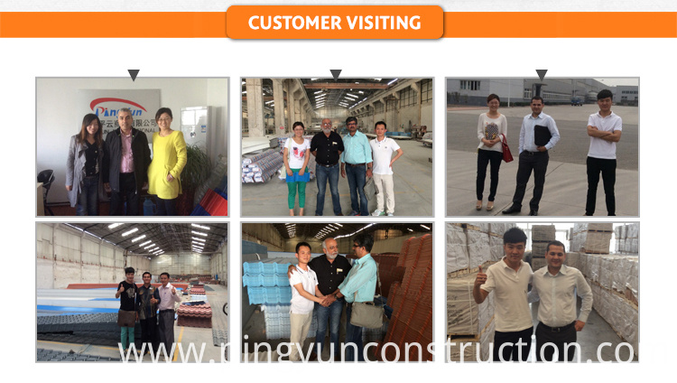 roof tile customer visit