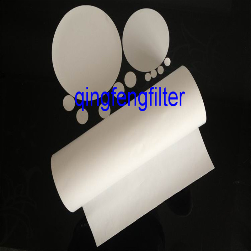 Hydrophobic PVDF Filter Membrane for Air and Gas Filtration in Roll