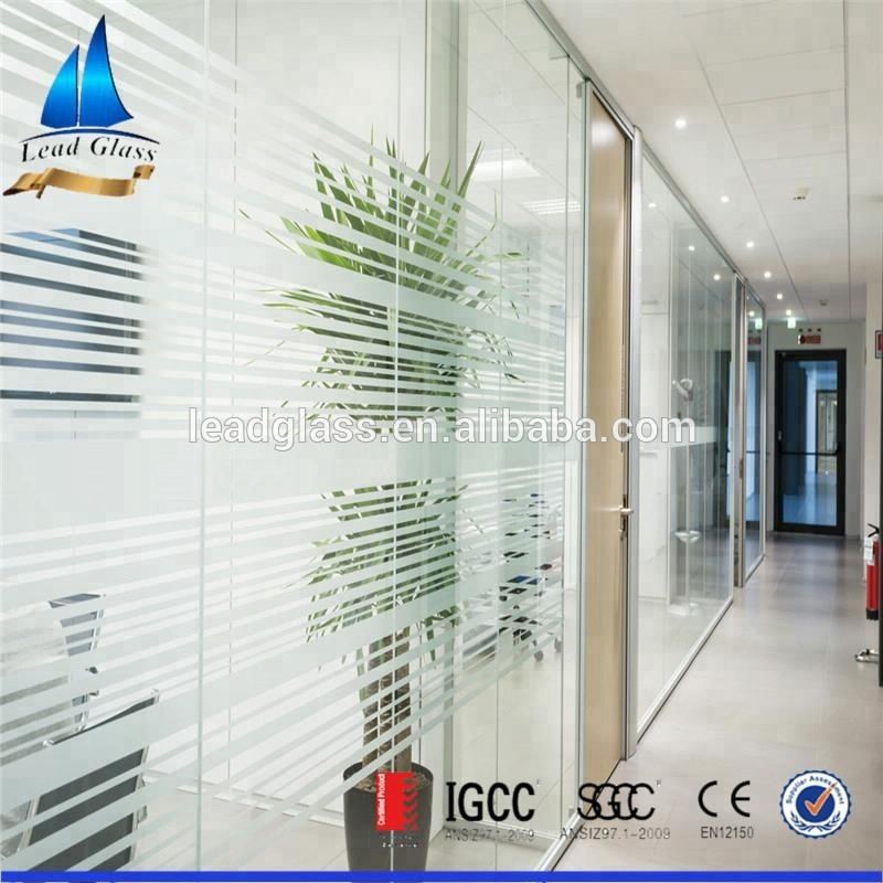 Printed Partition Glass