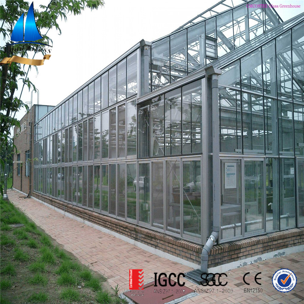 insulated glass for greenhouse