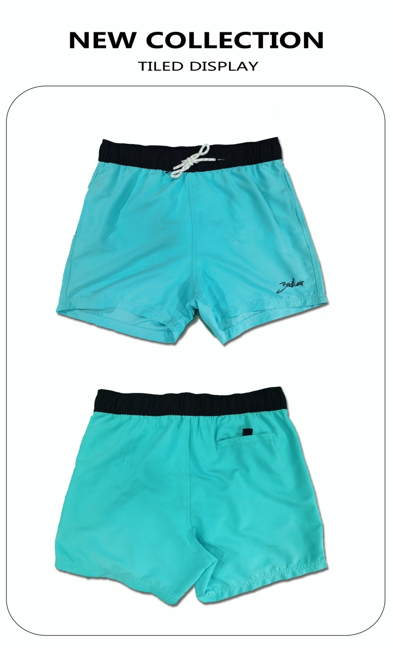 120GSM Microfiber with Magic Print Brief Mesh Lining Quick Dry Print Change in Water Man's Swimming Short