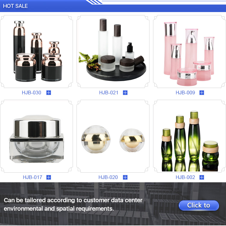 Luxurious drum-shaped Cosmetic acrylic lotion bottle