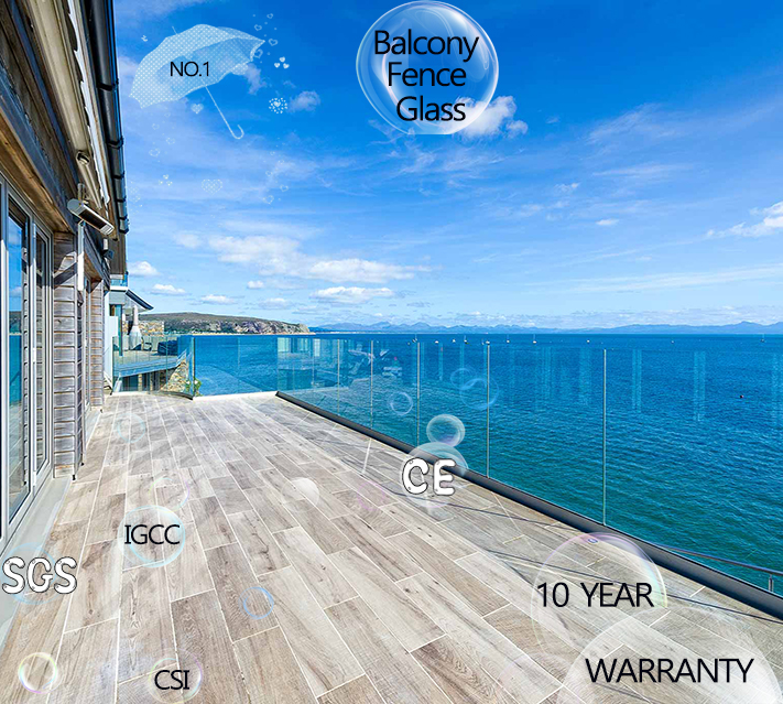 Balcony Tempered Glass