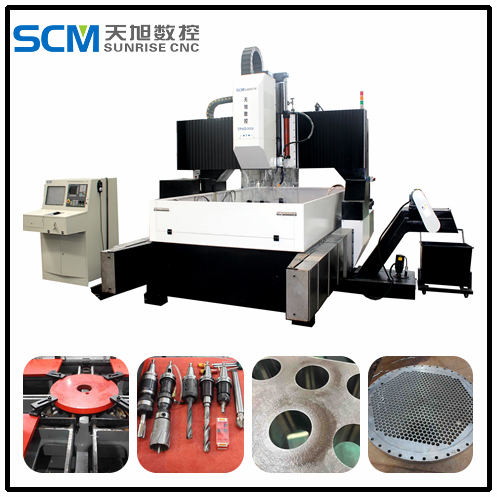 Tphd3016 High Speed CNC Drilling Machine for Plates, Tube Sheets