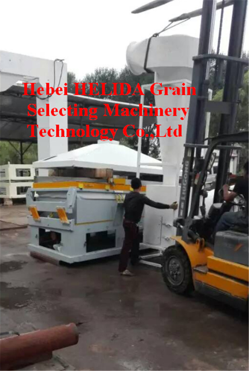 Seed Grain Gravity Table Separator Machine Seed Grain Cleaning Machine
