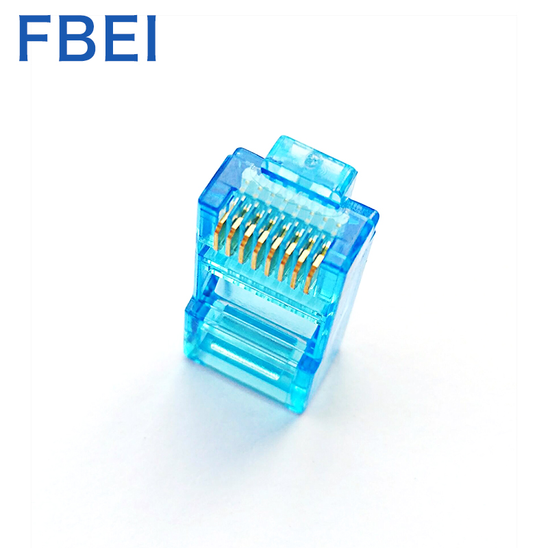 Color RJ45 Cat5e connector