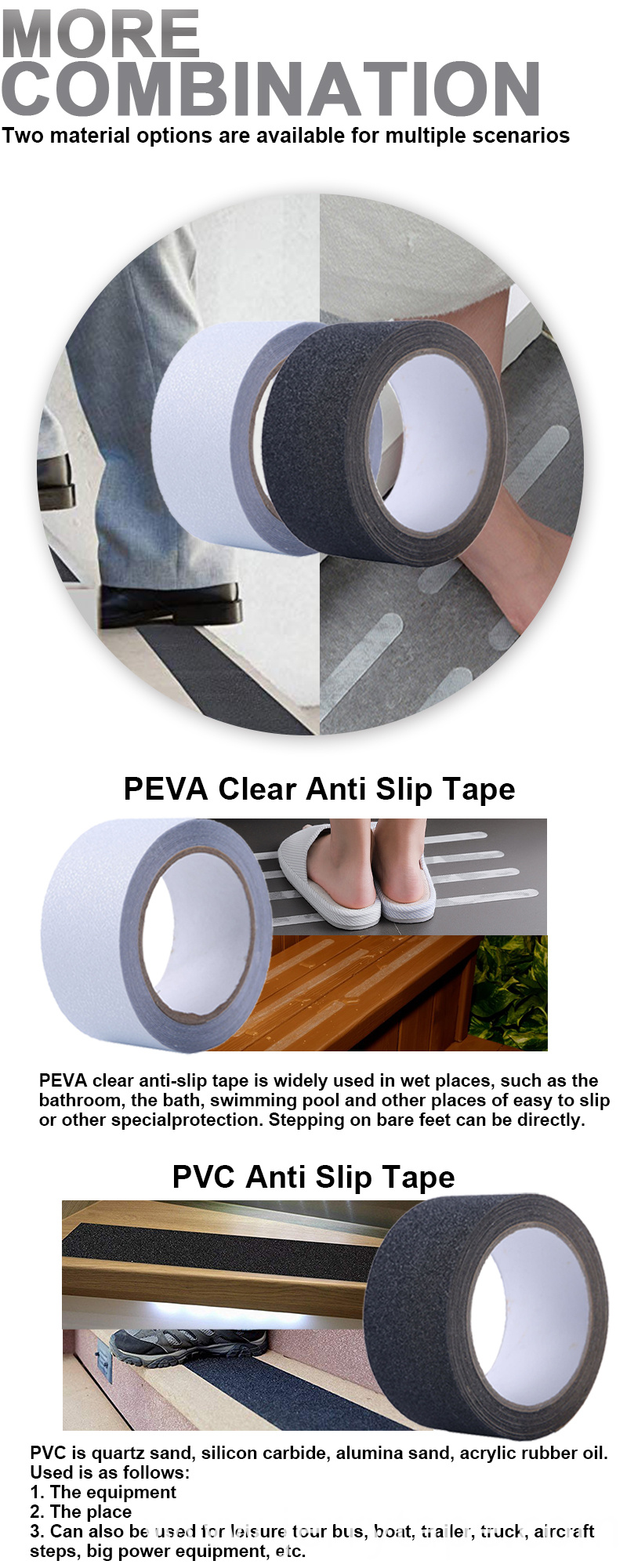 Safety Walk Anti Slip Tapes