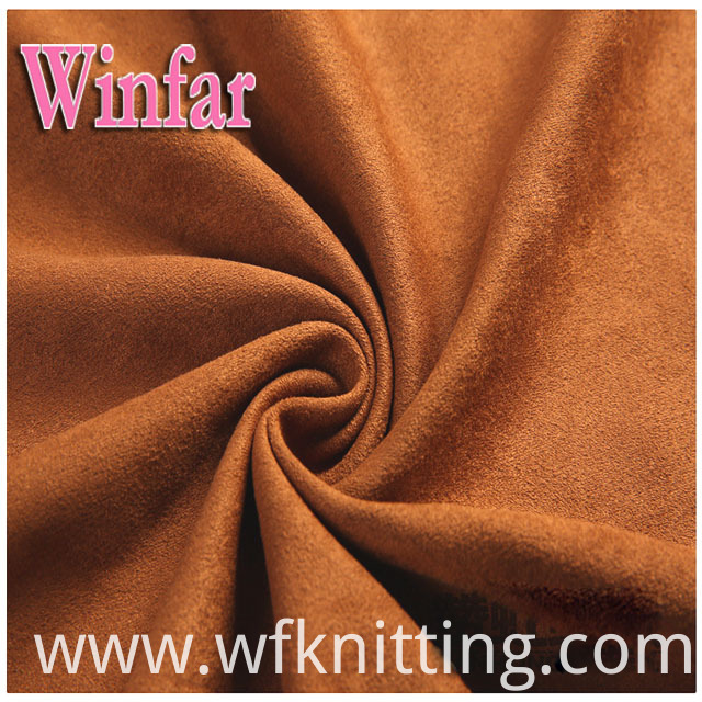 High Quality Microfiber Suede Fabric