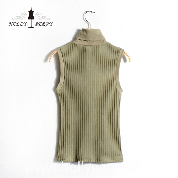 Sleeveless Women Vest