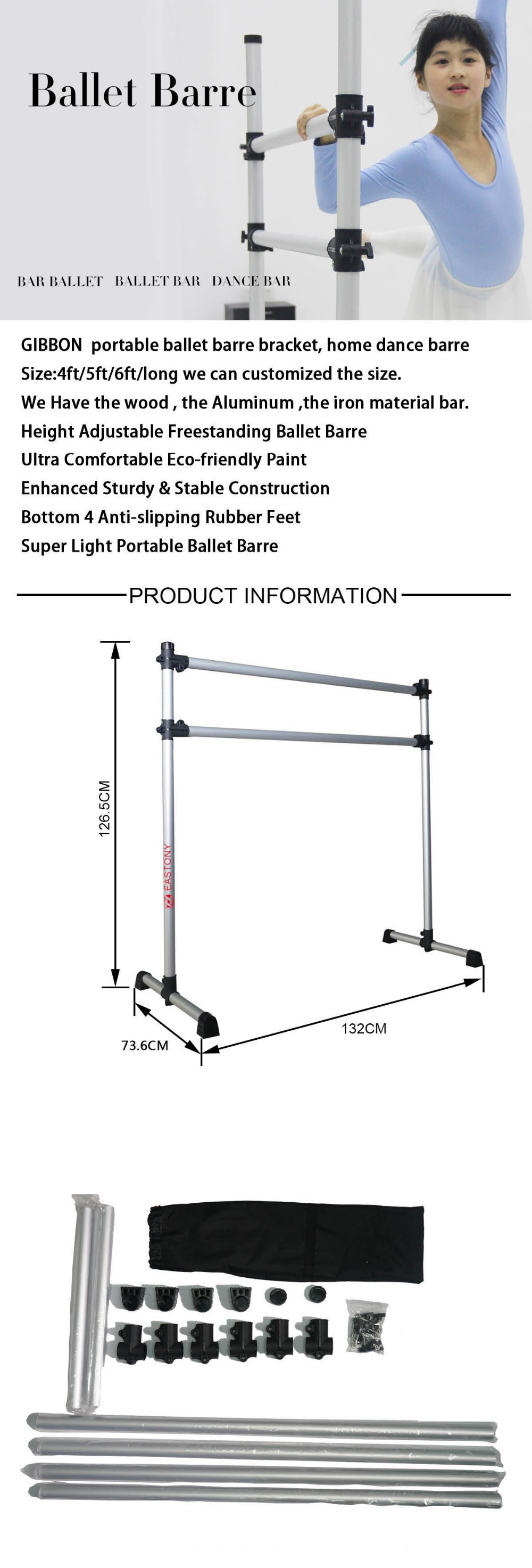 ballet barre product