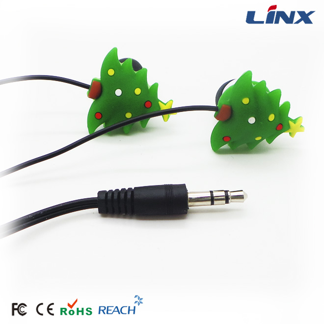 Customized PVC earphone