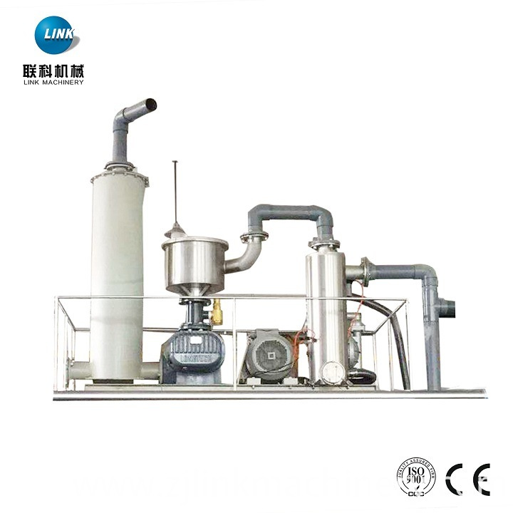 Textile Dyeing Finish Rope Opener Vacuum Suction Detwist Machine