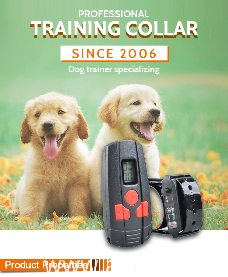 Aetertek Waterproof Remote Dog Training Collar
