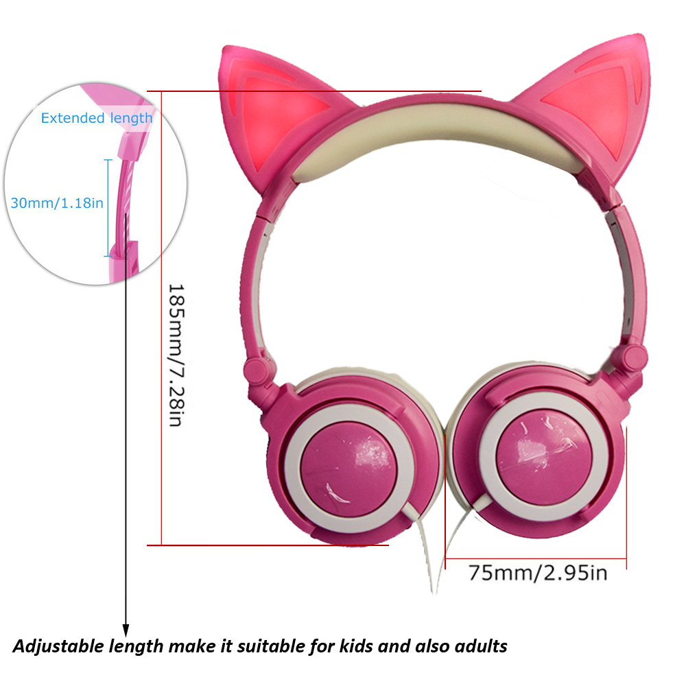 Adjustable headphone for kids