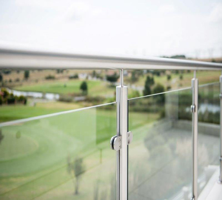 Frameless Balcony Glass