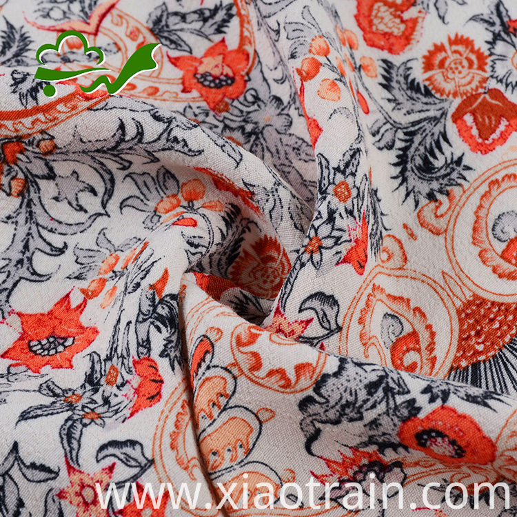 rayon floral fabric for dress