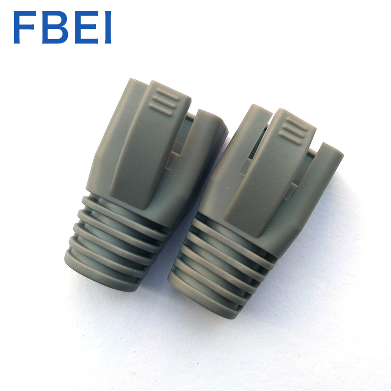 RJ45 Cat6 Connector Boots wire hole