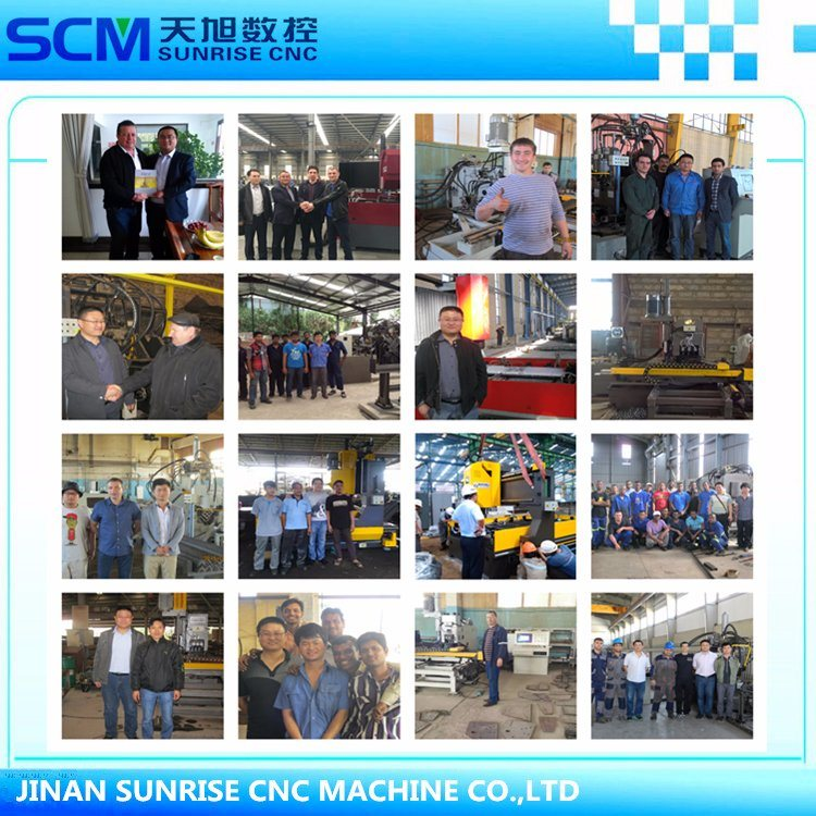 Two Spindles Siemens CNC Drilling Machine for Steel Plates Fabrication
