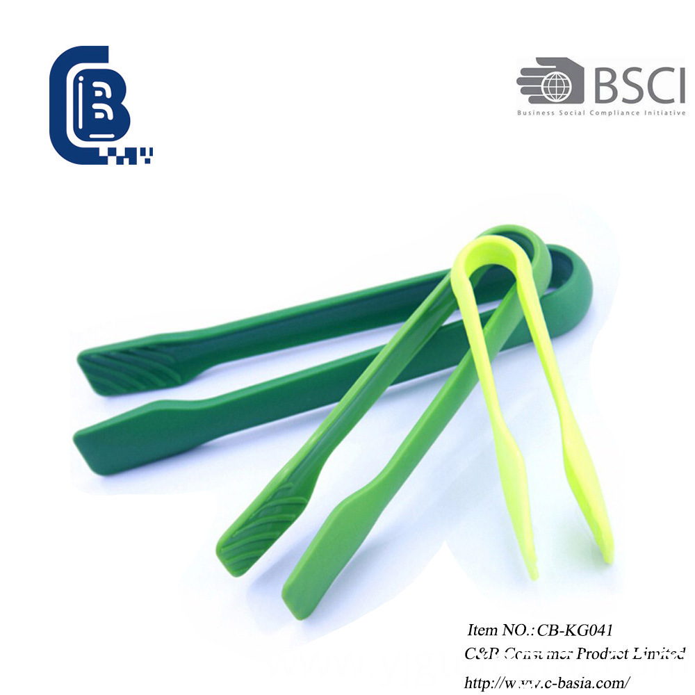 Kitchen Salad Cooking Food Tongs, Serving Baking Grilling Nylon Tongs