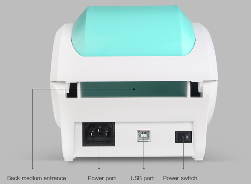 3 Inch bluetooth barcode printer