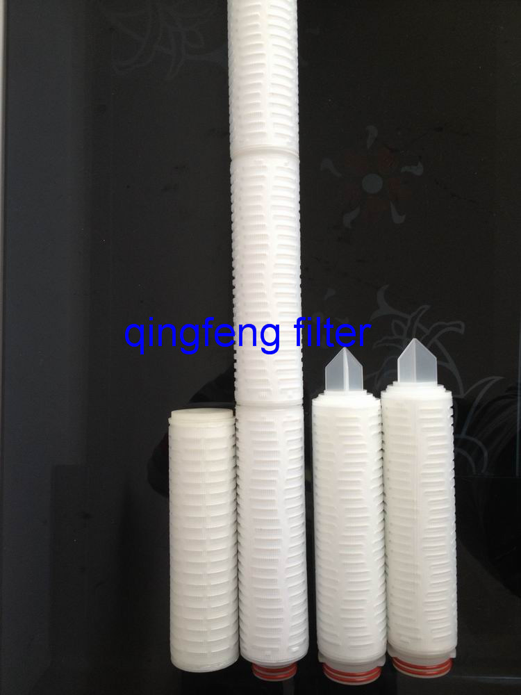 Pes Pleated Filter Cartridge for Beer and Wine Filtration