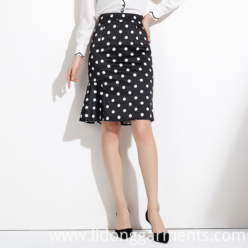 Fishtail Skirt With Point Skirt
