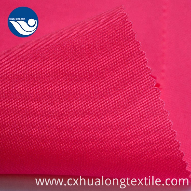 100% polyester linen look fabric