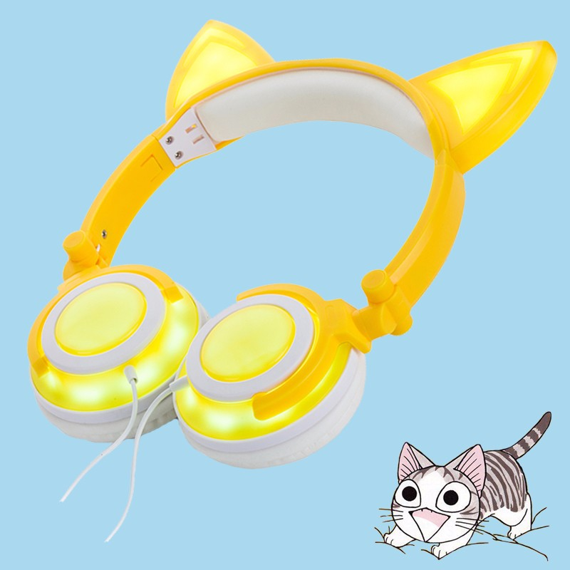stereo light up headphone