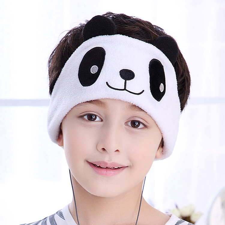 Wired sleeping headband for kids