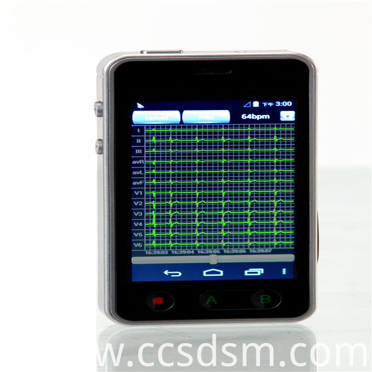 Digital Dynamic Electrocardiograph