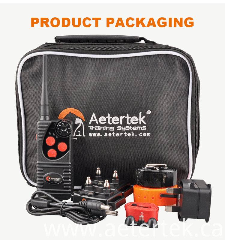 Aetertek Remote Vibrating Dog Training Collar