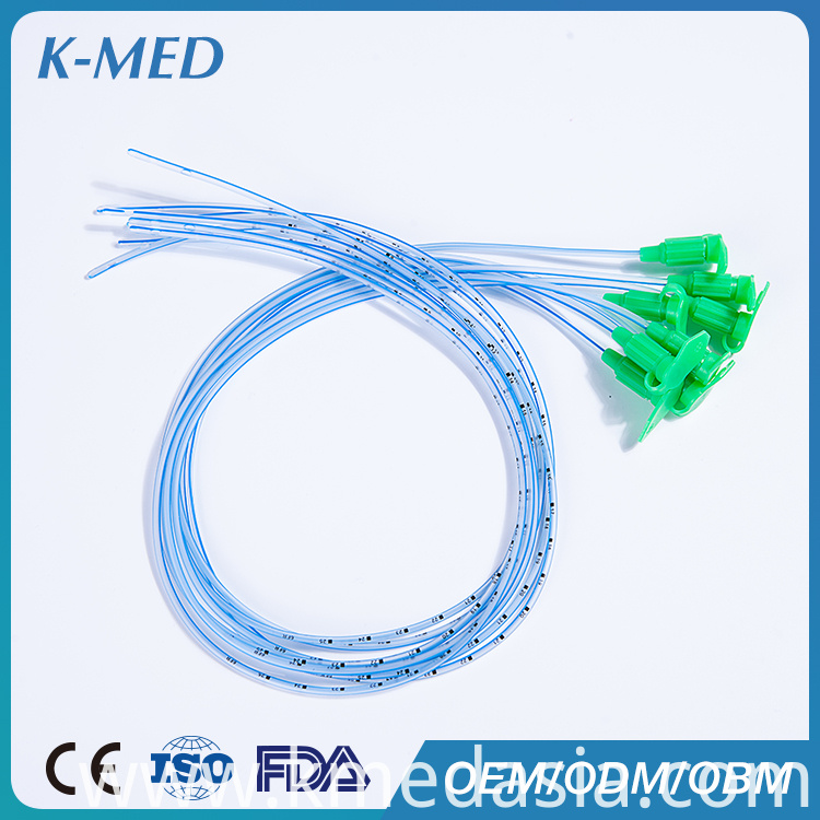 disposabe pvc feeding tube
