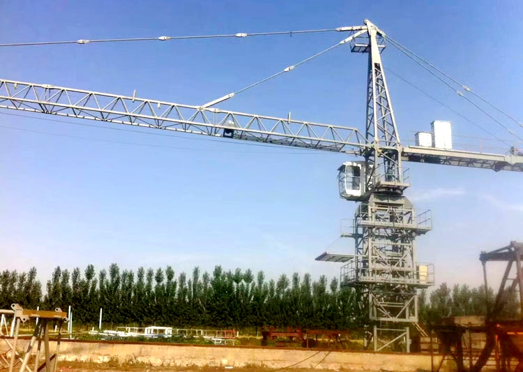 Luffing-jib Tower Crane Use
